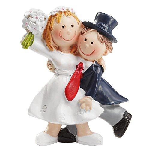 Unbekannt Braut und Bräutigam, Dekoration für Hochzeitskuchen