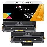 Dayhot MLT-D111S Cartucho de Tóner Compatible para Samsung M2070W M2020 M2070 M2022 M2020W M2022W M2070F M2070fw SL-M2026 M2071 M2078 M2074FW M2078FW M2078F(2 Negro)