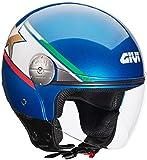 GIVI - Casco mini-jet HPS 10.7, motivo Frecce Tricolori, laccato