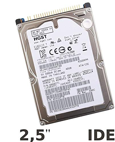 HGST – Disco Duro Interno 2,5 '40 GB IDE/ATA/Pata para PC...