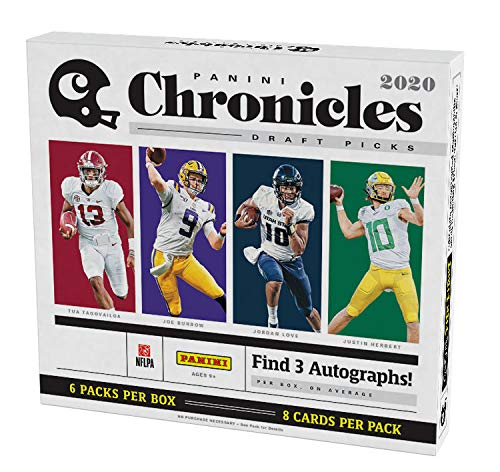 2020 Panini Chronicles Draft Picks Football HOBBY box (6 pks/bx)