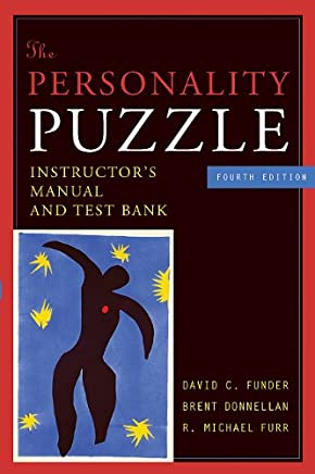Personality Puzzle 4e Instructors Manual