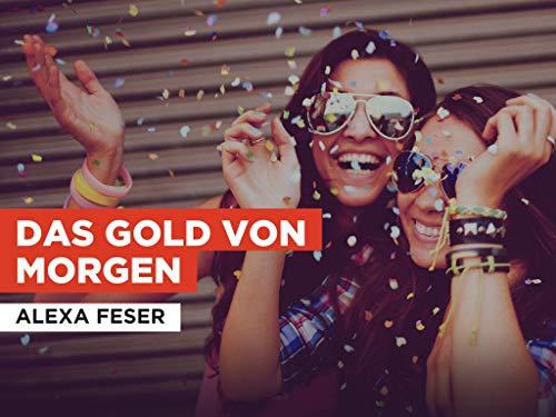 Das gold von morgen im Stil von Alexa Feser