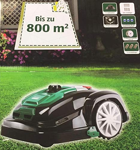 Mähroboter Garden Feelings Rasenmäher Akkurasenmäher 800QM Regensensor