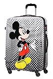 American Tourister Disney Legends Spinner L Valigia per bambini, 75 cm, 88 L, Multicolore (Mickey Mouse Polka Dot)