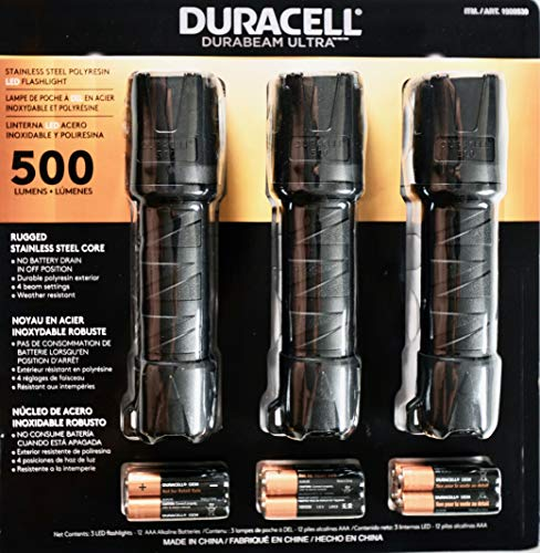 Best 1000 lumens flashlight duracell on the market