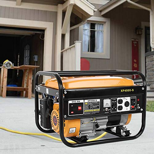 Effulow 4000W Gas Generator, 4-Stroke OHV 1-Cylinder, 212CC Engine for Emergency Supplies Camping Standby, Portable Power Station Gasoline Running Amps 120V(29.2A) [ USA in Stock ] Categories
