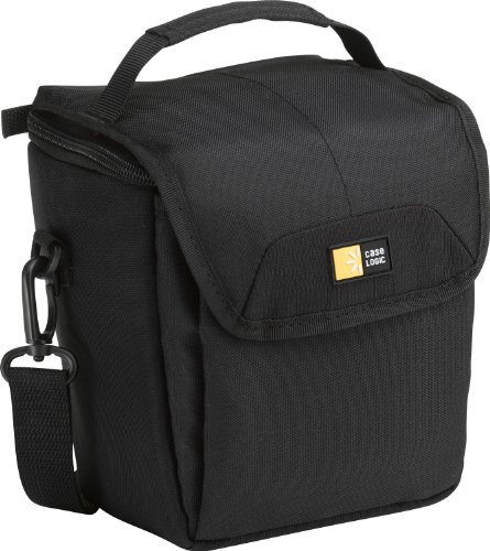 Hülle Logic PVL203 Camcorder Bag Kameratasche mit Tragegriff/Schultergurt (inkl. Zubehörfach) schwarz