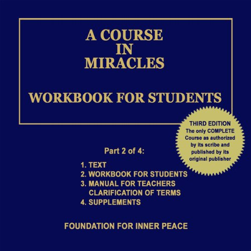 A Course in Miracles: Workbook for Students, Vol. 2 Titelbild