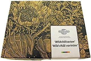 Magic Garden Seeds Wildchilisorten Samen-Geschenkset mit 2 sehr ursprünglichen scharfen Chilisorten