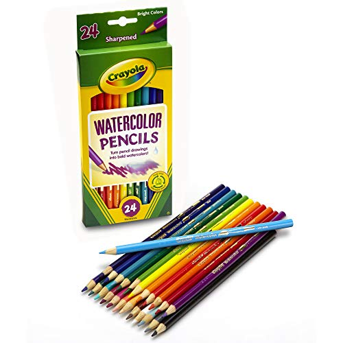 Crayola 24ct Watercolor Colored Pencils