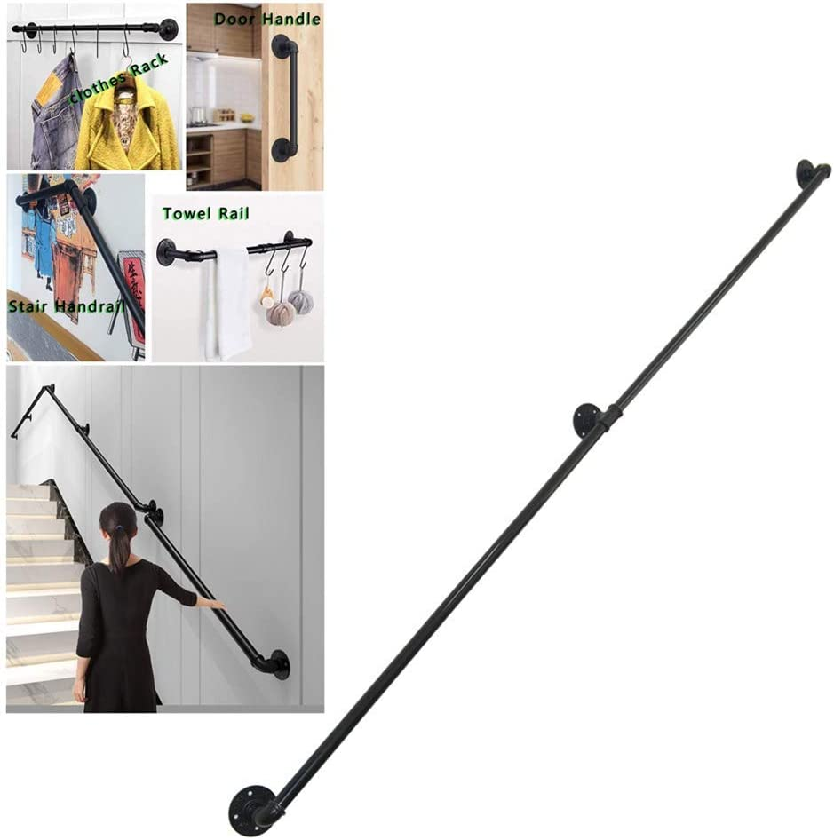 KFDQ Stair Handrail Brackets, Multipurpose Brackets Loft Industr