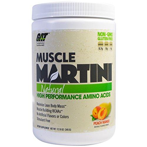 GAT Muscle Martini Naturals Peach Mango, 345 g