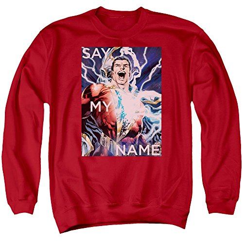Justice League - Men Say My Name Pull, Large, Red