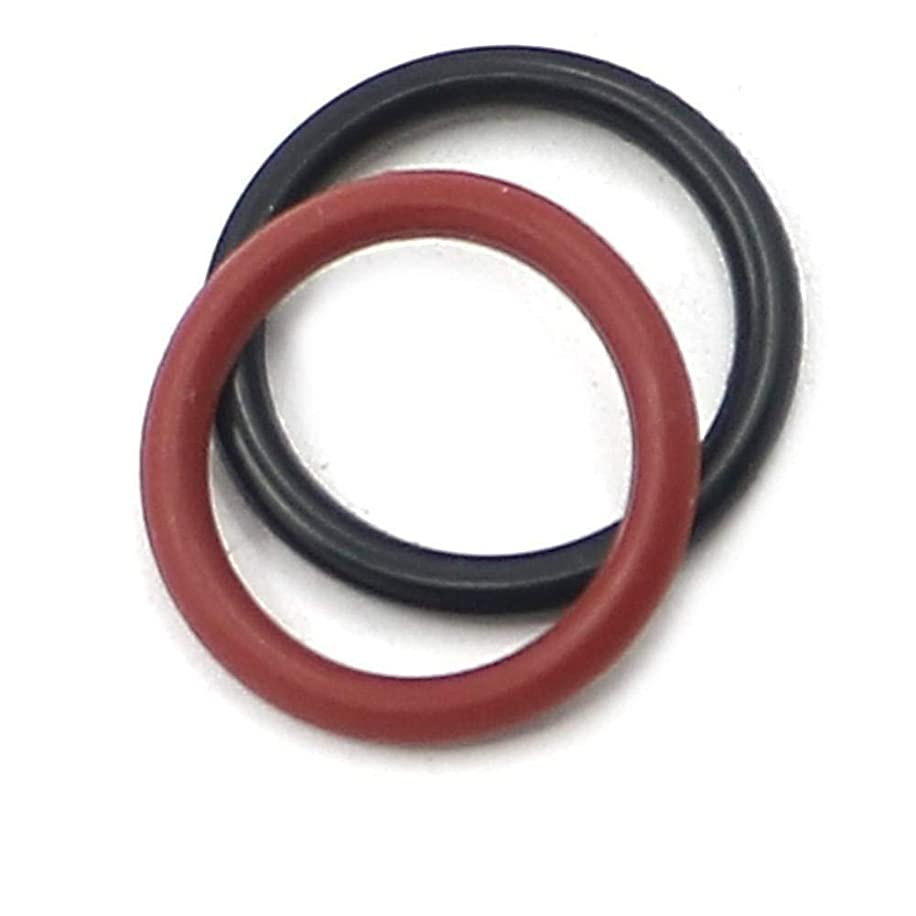 for HONDA Power Steering Pump Rubber Inlet & Outlet O-Ring Seals for P/S Hi Pressure Hose, 2 PCS KIT 91345-RDA-A01 / 91370-SV4-000