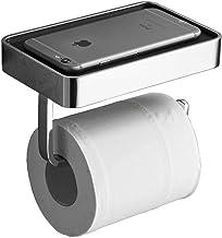 WHLONG Toiletpapierhouder Wandmontage Met Mobiele Telefoon Houder Stand Plank Badkamer Weefsel Papier Handdoek Rolhouder H...