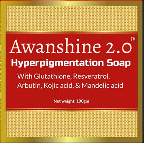Awanshine Hyperperpigmentation Whitening Soap...