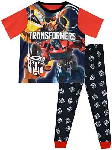 Transformers Boys Bumblebee Optimus Prime Pajamas Size 5 product image