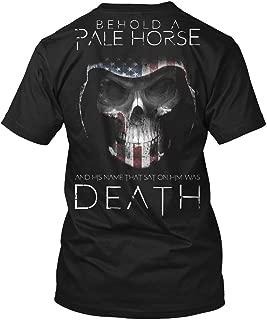 Behold a Pale Horse Death XLT - Black Tshirt - Hanes Tagless Tee