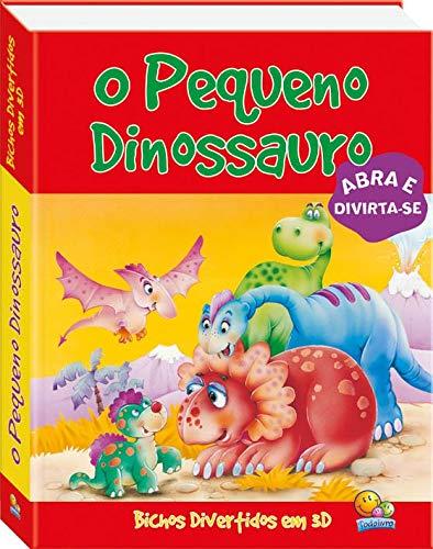 Bichos divertidos em 3D: o pequeno dinossauro
