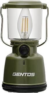 GENTOS(ジェントス) LED ランタン 【明るさ400ルーメン/実用点灯30-200時間/防滴】 エクスプローラー EX-400F 防災 あかり 停電時用 ANSI規格準拠
