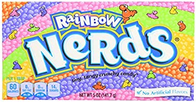 Wonka Rainbow Nerds, natural flavors, 141.7 g