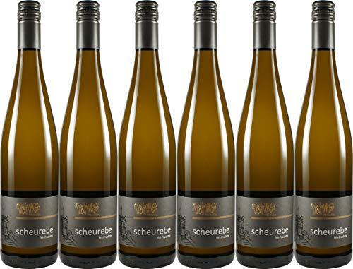 Dahms Scheurebe feinfruchtig - gutswein 2019 Halbtrocken (6 x 0.75 l)