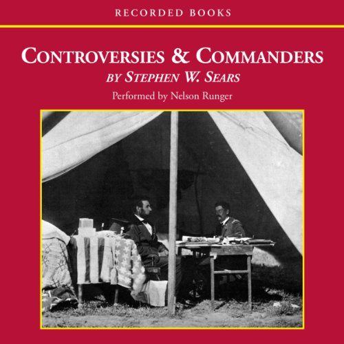Controversies and Commanders audiobook cover art