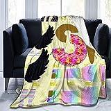 Manta de Tiro Mago Traje de muñeca de Tarot Manta de Microfibra Ultra Suave Súper Suave para Cama Sofá Sala de Estar