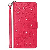 Flip Case Fit for Samsung Galaxy A70S, Kickstand Luxury Card Holders red Leather Cover Wallet for Samsung Galaxy A70S from TemplarMoon