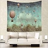 WALLhang Tovaglia Decorativa da Parete Picnic Soggiorno Camera da Letto arazzo arazzo Moderno arazzo Minimalista, JM-180, 130x150 (cm)