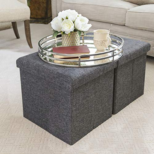 wicker trunk coffee table - 4