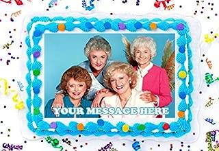 Golden Girls Edible Image Personalized Cupcakes Frosting Sugar Sheet (8