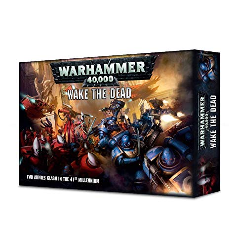 Games Workshop Warhammer 40.000 Wake The Dead (Deutsch) Space Marines vs Craftworlds