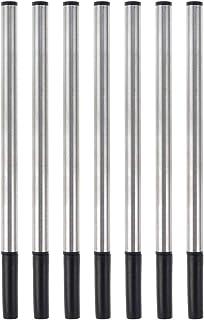 Joen Metal Ballpoint Pen Black Ink Refills 0.7 mm Fine Tip 7 Count Pack