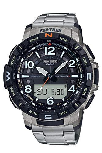 [カシオ] 腕時計 プロトレック クライマーライン PRT-B50T-7JF メンズ シルバー