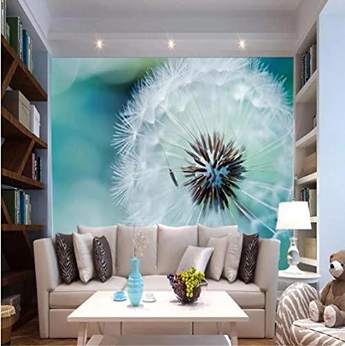 FVeng LIN Carpet Self Adhesives Wallpaper 3D Stereo Murals Abstract Dandelion Living Room Sofa Bed Bedroom Set Painting Waterproof-200cmx140cm