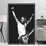 Amrzxz Rompecabezas de 1000 Piezas『Famoso Cantante Masculino, Chris Cornell』Rompecabezas del Juego de desafío Cerebral