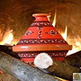 Tagine Red tattooed - D 23 cm traditional