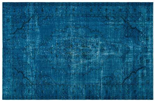 ALLMODE - Alfombra de lana turca hecha a mano, 185 x 285...