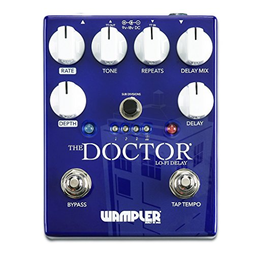 Wampler The Doctor Lo-Fi Ambient Delay Guitar Effects Pedal