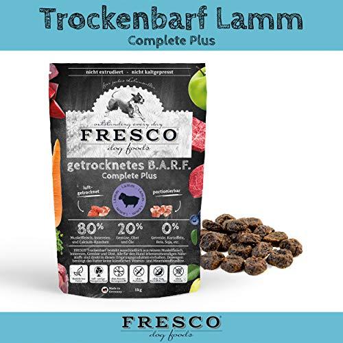 Fresco Dog Trockenbarf Complete Plus Lamm 1kg
