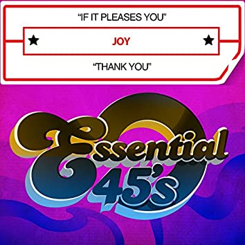 If It Pleases You / Thank You (Digital 45)
