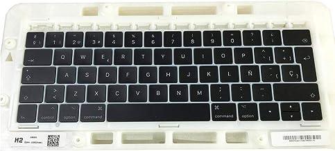 """OLVINS Reemplazo SP Juego de Teclas en español Teclas QWERTY alemanas para MacBook Pro Retina 13""""15 '' A1706 A1707 Teclas ..."""