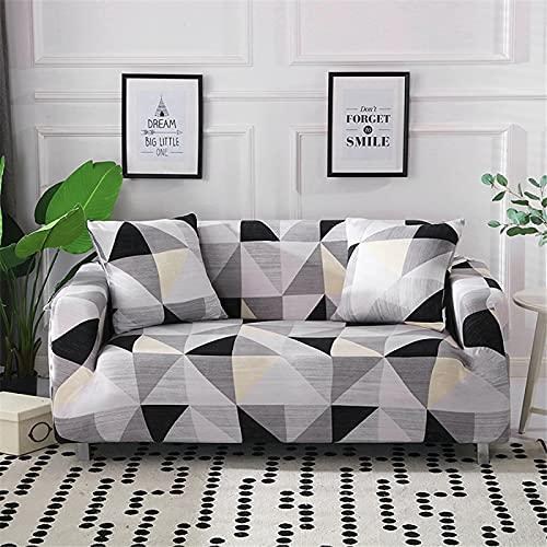 DHHY Hochauflösende Digitalbezug-Sofabezug, Antifouling-Sofabezug Für Wohn- Und Schlafzimmer, Stretch-Sofabezug Aus Polyesterfaser 1 2 3 4 Sitze 1-Seater 90-140cm