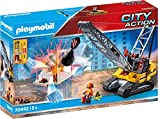 Playmobil - Construcción, Excavadora Oruga, Juguete, Color Multicolor, 70442