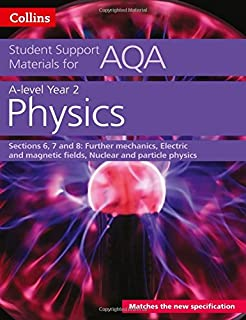 AQA A Level Physics Year 2 Sections 6, 7 and 8: Further Mechanics, Electric and Magnetic Fields, Nuclear and Particle Physics