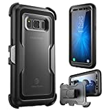 i-Blason Case for Galaxy S8 Active , Magma Full body Heavy Duty Protection Shock Reduction / Bumper Case with Built-in Screen Protector (Not Fit Galaxy S8/S8 Plus)(Black)