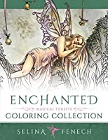 Enchanted - Magical Forests Coloring Collection (Fantasy Coloring by Selina)