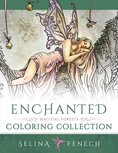 Enchanted - Magical Forests Coloring Collection (Fantasy Coloring) (Volume 3)